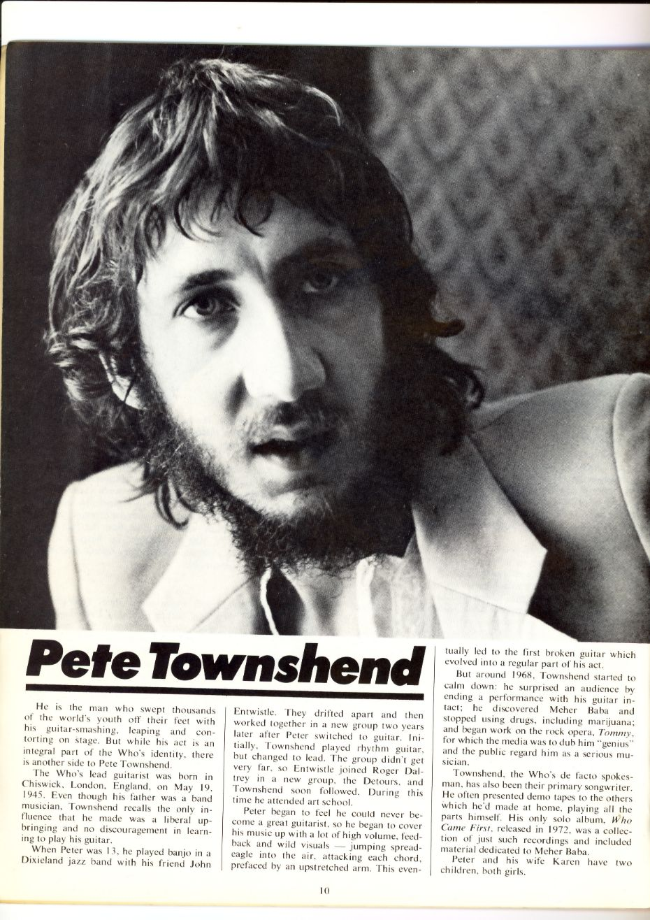 The Who - Ten Great Years - Page 10