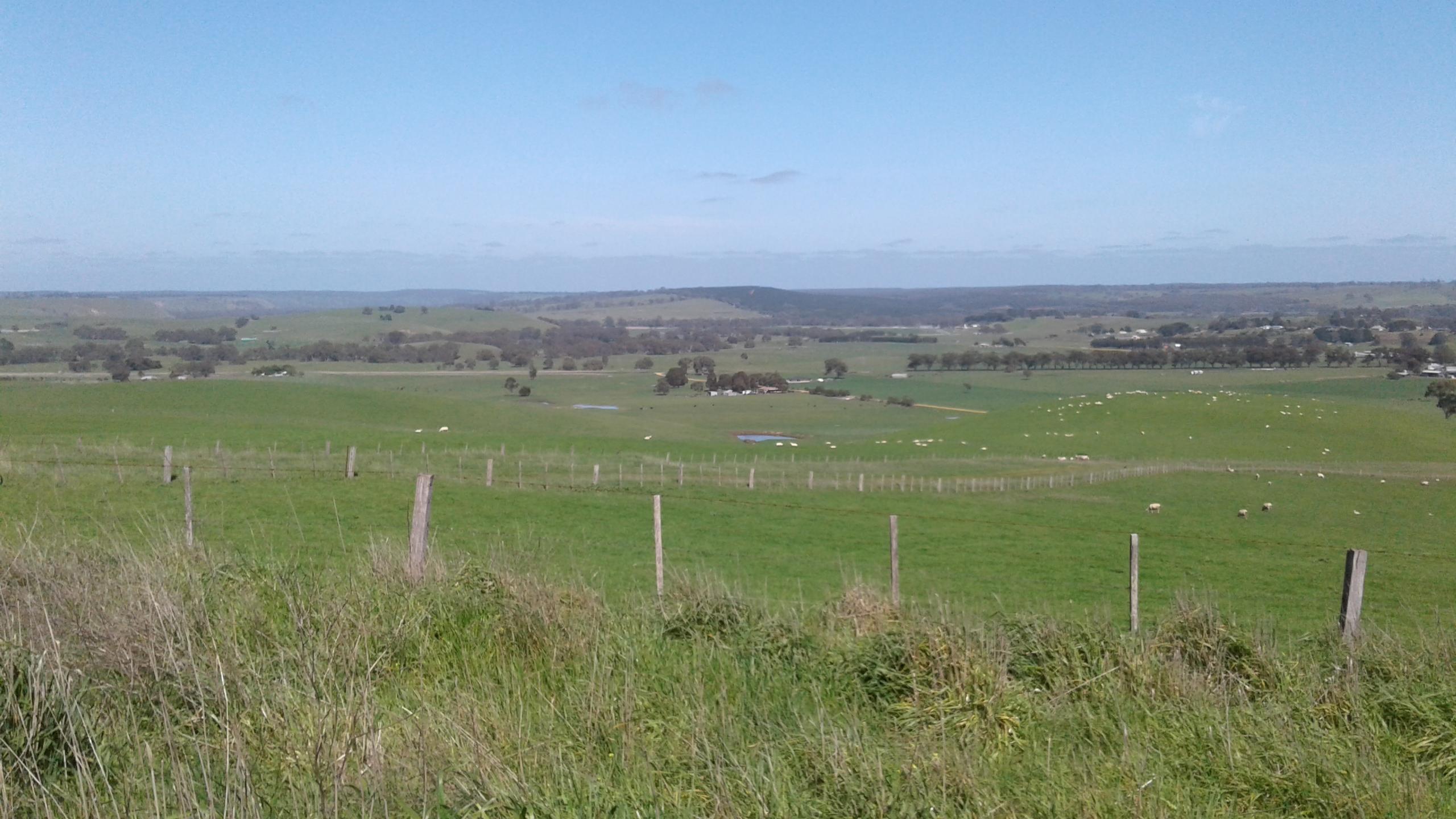 The Australian countryside.